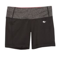 Athletic Works Girls' Performance Short Black M/M