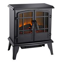 Pleasant Hearth 20 Inches Electric Stove, Matte Black