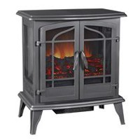 Pleasant Hearth Vintage Iron Panaromic Electric Stove