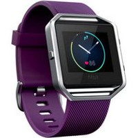Fitbit Blaze Smart Fitness Watch Plum Large