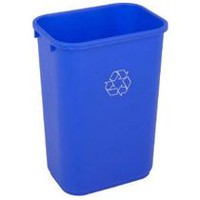 Continental Large Recycling Waste Receptacle Bin