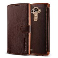 Vrs Design Layered Dandy Case for LG G5 Brown