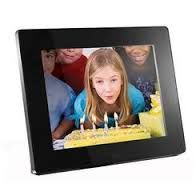 "Aluratek 8"" Digital Photo Frame with 512MB Built-in Memory"