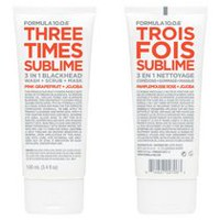 Formula 10.0.6 Three Times Sublime Pink Grapefruit + Jojoba 3 In 1 Wash + Scrub + Mask