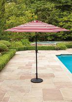 Hometrends 9 ft. Round Red Market Umbrella