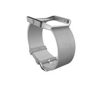 Fitbit Blaze Classic Accessory Leather Band Grey Small