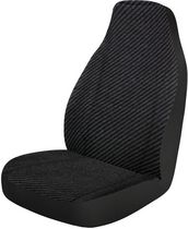 Who-Rae Single Dart Seat Cover, Black