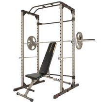 Fitness Reality 810XLT Power Cage and with the Super Max 1000 12 Position Weight Bench