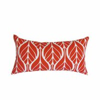 Henryka Red Toss Cushion