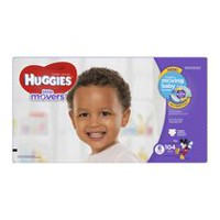 Couches Huggies Little Movers, Emballage Économie Taille 6