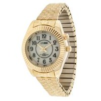 Globlu Ladies Easy Read Goldtone Analog Watch