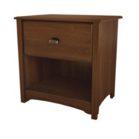 South Shore Logan Collection Night Stand, Sumptuous Cherry