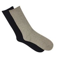 Secret Ladies Crew Socks 6pk Stone