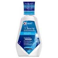 Crest 3D White Multi-Care Whitening Oral Rinse Arctic Fresh Ice Cool Mint Mouthwash