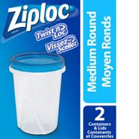 Ziploc® Twist 'n Loc® Containers 2 Medium