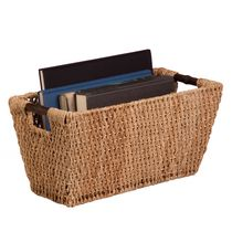 Honey-Can-Do Large Seagrass Basket with Handles