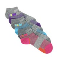 Danskin Now Women's Ultra Light No Show Socks 6pk Grey