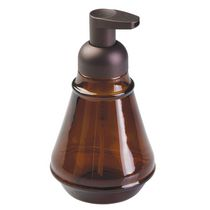 Mainstays Bronze/Amber Foaming Glass Soap Pump