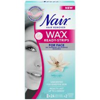 Nair Wax Ready-Strips Face Hair Remover