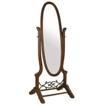 Worldwide Homefurnishings Swivel Cheval Mirror