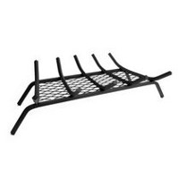 Pleasant Hearth 27 Inches Steel Grate with Ember Retainer