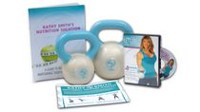 Kathy Smith Kettlebell Solution  - 3lb and a 5lb