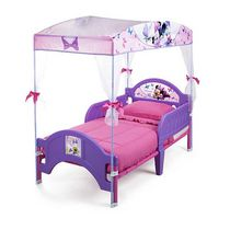 Disney Minnie Mouse Toddler Canopy Bed