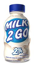 Milk 2 Go 2% M.F. Partly Skimmed Milk