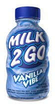 Milk 2 Go 1% M.F. Partly Skimmed Vanilla Vibe Milk