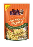 Uncle Ben's Fast and Fancy Garden Style Vegetable Rice