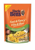 Uncle Ben's Fast and Fancy Broccoli and Cheddar Rice