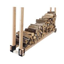 Pleasant Hearth 4 Piece Log Rack Brackets