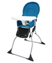 Cosco Simple Fold™ High Chair - Peacock