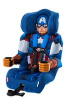 KidsEmbrace Friendship Combination Booster Captain America Car Seat