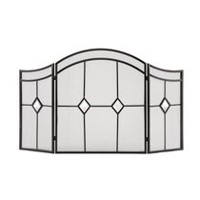 Pleasant Hearth Arched Diamond Fireplace Screen