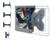 "TygerClaw 14"" - 40"" Full Motion Flat-Panel TV Wall Mount (LCD5305BLK)"