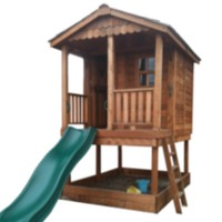 6' x 9' Sunflower Playhouse with Sandbox