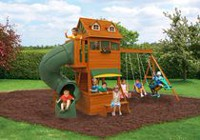 Cedar Summit Forest Hill Retreat Wooden Play Set - F23180