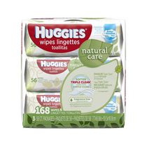 Huggies® Natural Care® Baby Wipes, Soft Pack 168 ct