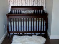 Concord Baby Sara 4 in 1 Crib Java
