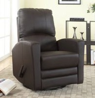 Concord Baby Austin Swivel Glider Recliner Brown