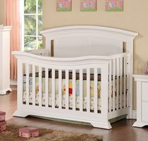 Concord Baby Vermont 3 in 1 Crib White