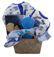 Little Miracles Boy Gift Basket