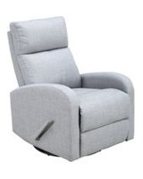 Concord Baby Charleston Swivel Glider Recliner Fabric Chair