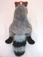 Silly Bums Large Racoon Dog Toy