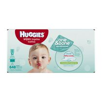 Huggies One and Done Wipes Refill - 648 count