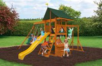 Cedar Summit Laurentian Wooden Play Set - F23280