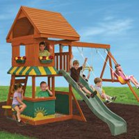 Big Backyard Magnolia Play Set - F23290