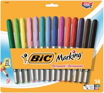 BIC® Mark-It Markers Assorted 14 Pack