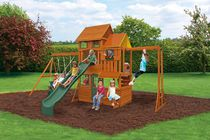 Cedar Summit Barrington Wooden Play Set - F23315